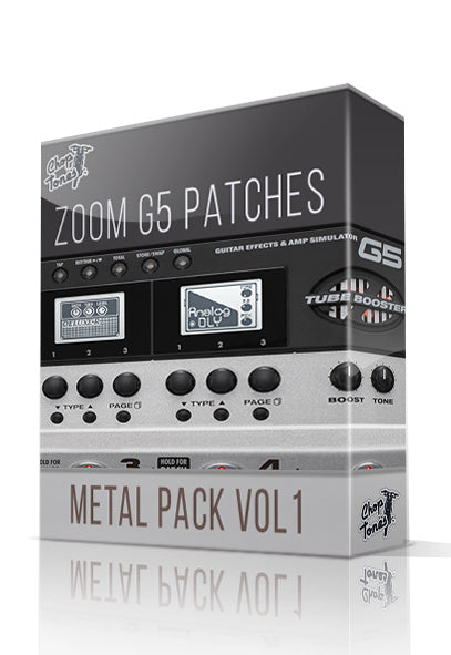 Metal Pack vol.1 for G5 - ChopTones