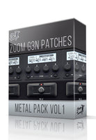 Metal Pack vol.1 for G3n/G3Xn - ChopTones