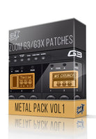 Metal Pack vol.1 for G3 / G3X - ChopTones