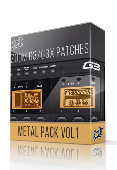 Metal Pack vol.1 for G3 / G3X