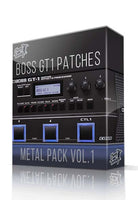 Metal Pack vol.1 for GT-1