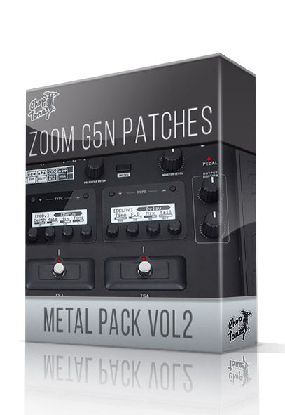 Metal Pack vol.2 for G5n - ChopTones