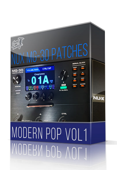 Modern Pop vol.1 for MG-30