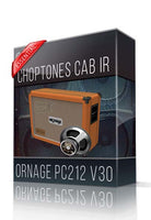 Ornage PC212 V30 Essential Cabinet IR - ChopTones