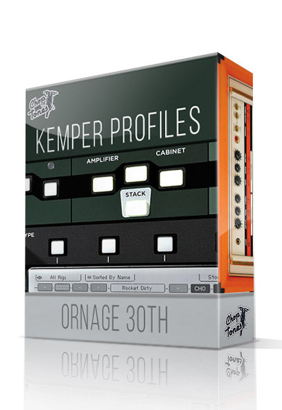 Ornage 30TH Kemper Profiles - ChopTones