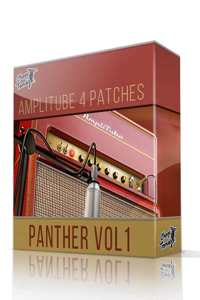 Panther vol.1 for Amplitube 4 - ChopTones