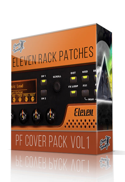 PF Cover Pack Vol.1 for Eleven Rack - ChopTones