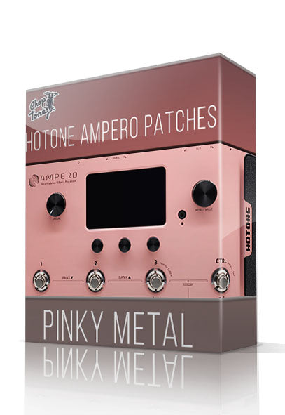 Pinky Metal for Hotone Ampero