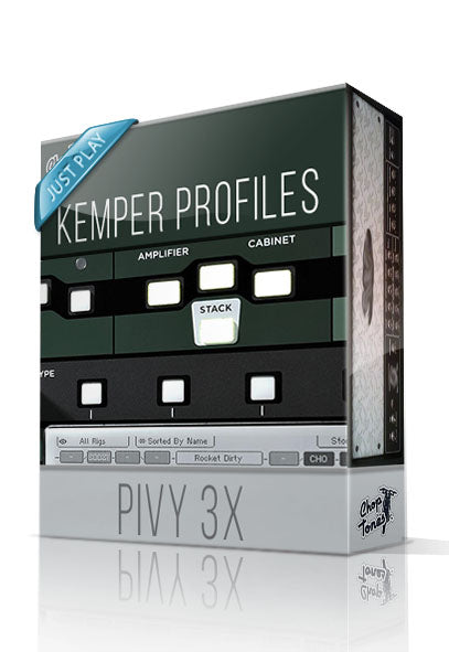 Pivy 3X Just Play Kemper Profiles - ChopTones