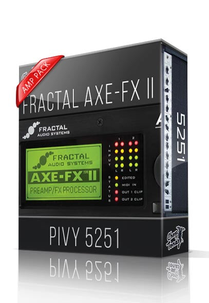 Pivy 5251 Amp Pack for AXE-FX II - ChopTones