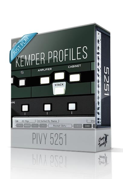 Pivy 5251 Just Play Kemper Profiles - ChopTones