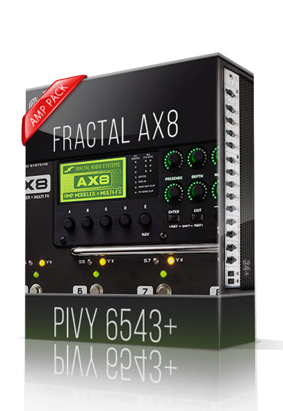 Pivy 6543+ Amp Pack for AX8 - ChopTones
