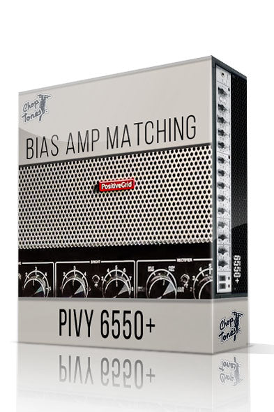 Pivy 6550+ Bias Amp Matching Pack - ChopTones