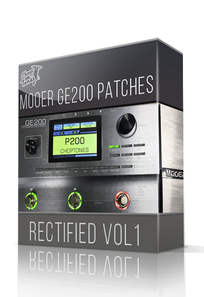 Rectified vol.1 for GE200 - ChopTones