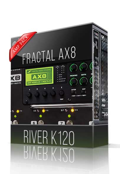 River K120 Amp Pack for AX8 - ChopTones