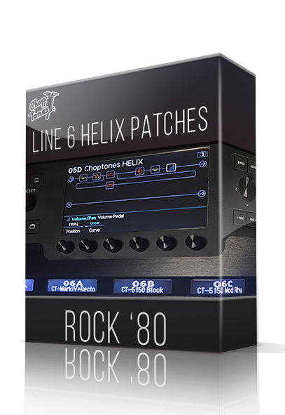 Rock '80 for Line 6 Helix - ChopTones