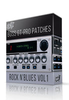 Rock N'Blues Pack vol.1 for GT-PRO - ChopTones