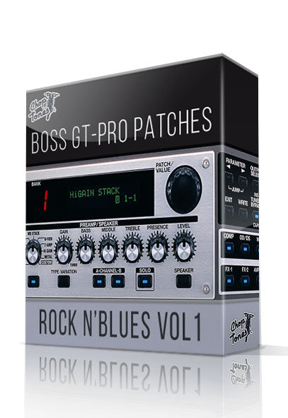 Rock N'Blues Pack vol.1 for GT-PRO