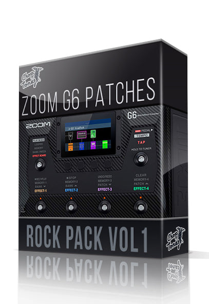 Rock Pack vol.1 for G6