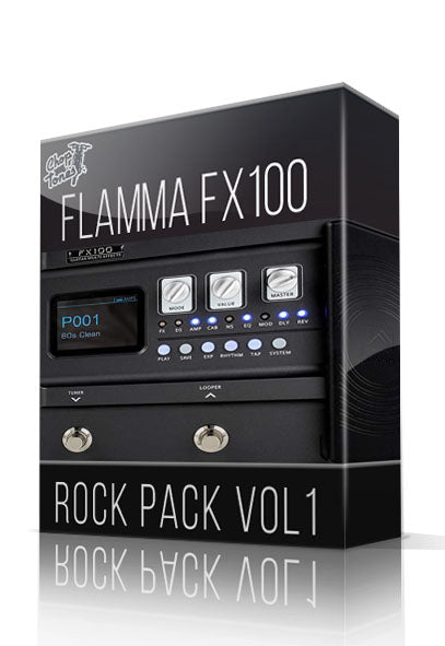 Rock Pack vol.1 for FX100