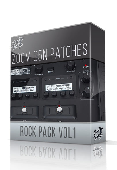 Rock Pack vol.1 for G5n - ChopTones
