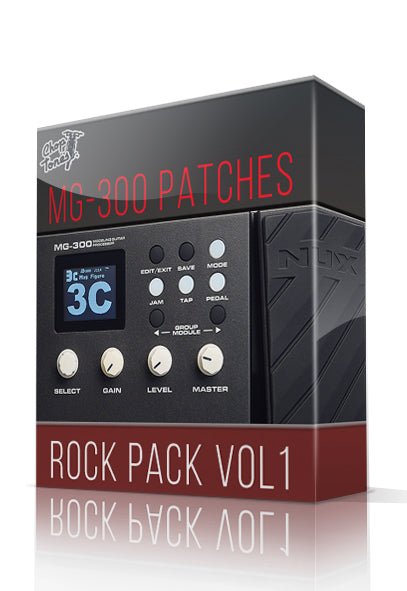 Rock Pack vol.1 for MG-300