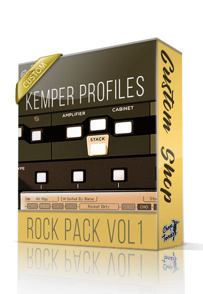 Rock Pack vol1 Custom Shop Kemper Profiles