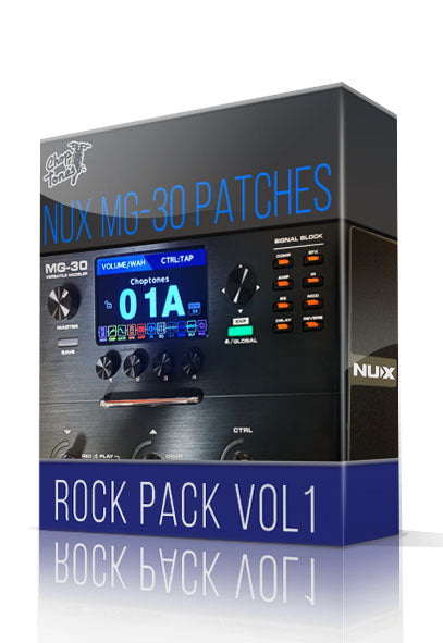 Rock Pack vol.1 for MG-30
