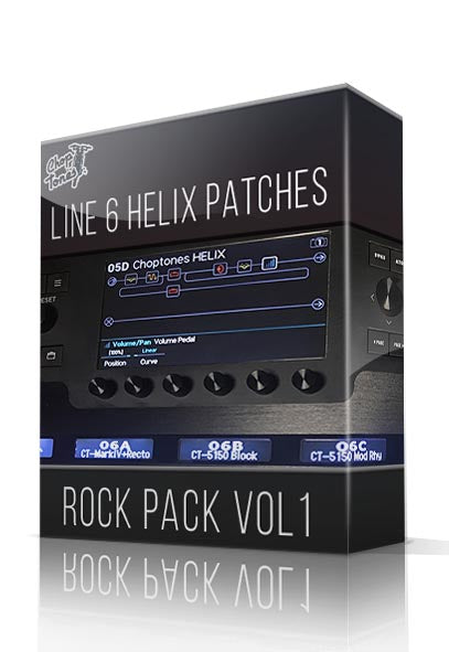 Rock Pack Vol.1 for Line 6 Helix - ChopTones