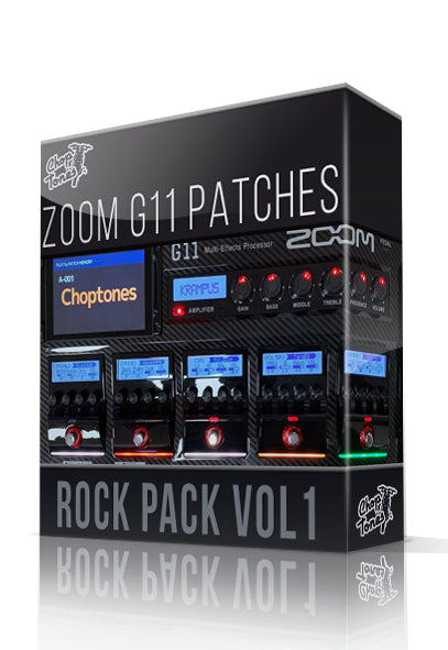 Rock Pack vol.1 for G11