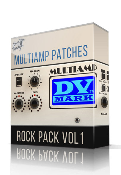 Rock Pack Vol.1 for DV Mark Multiamp - ChopTones