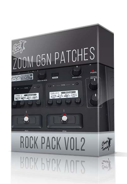 Rock Pack vol.2 for G5n - ChopTones