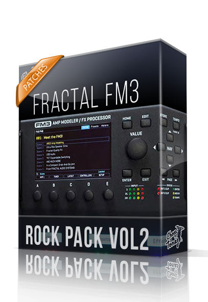 Rock Pack vol.2 for FM3