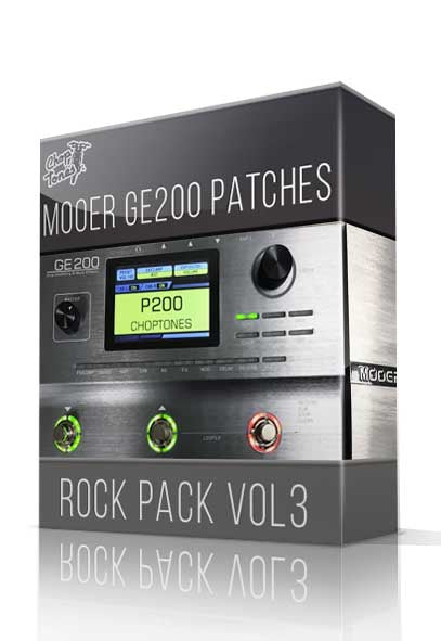 Rock Pack vol.3 for GE200