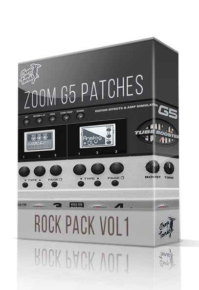 Rock Pack vol.1 for G5 - ChopTones