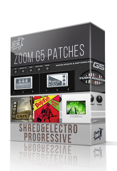 Shred & Electro Progressive for G5 (Gianni Rojatti Signature Pack) - ChopTones