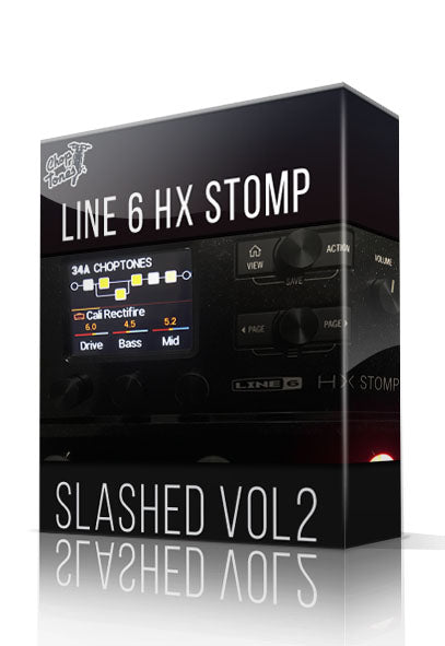Slashed vol2 for HX Stomp