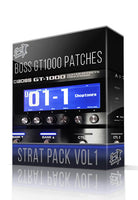 Strat Pack vol.1 for Boss GT-1000 - ChopTones