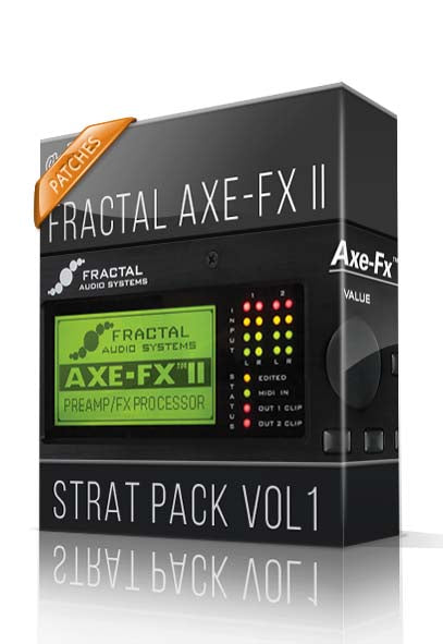 Strat Pack Vol.1 for AXE-FX II - ChopTones