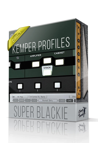 Super Blackie DI Kemper Profiles - ChopTones
