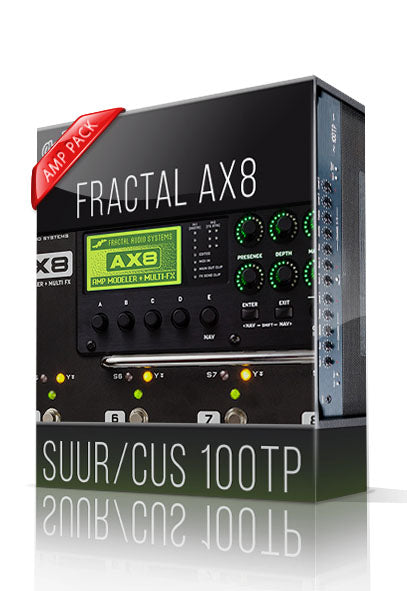 Suur/Cus 100TP Amp Pack for AX8 - ChopTones