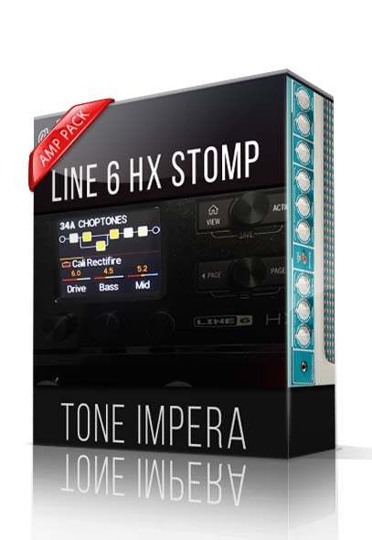 Tone Impera Amp Pack for HX Stomp