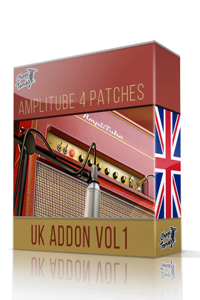 UK Addon Vol.1 for Amplitube 4