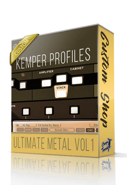 Ultimate Metal vol1 Custom Shop Kemper Profiles