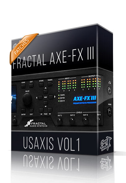 USAxis vol.1 for AXE-FX III - ChopTones