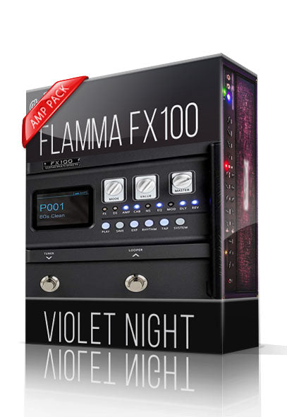 Violet Night Amp Pack for FX100