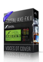 Voices DT Cover for AXE-FX II - ChopTones