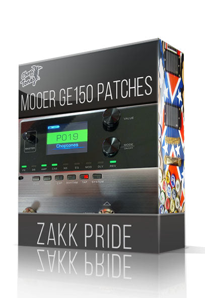 Zakk Pride for GE150