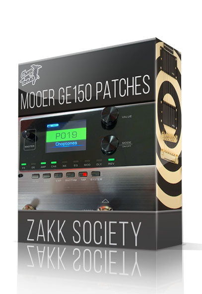 Zakk Society for GE150