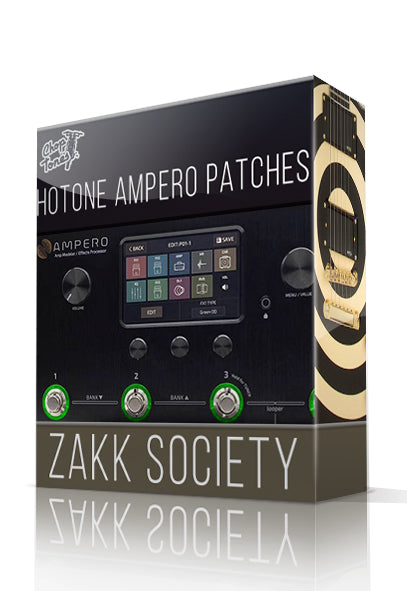 Zakk Society for Hotone Ampero